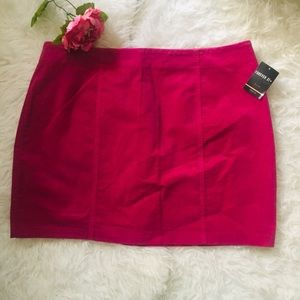 NWT Forever21 Plus Size Mini Corduroy Skirt. 3X